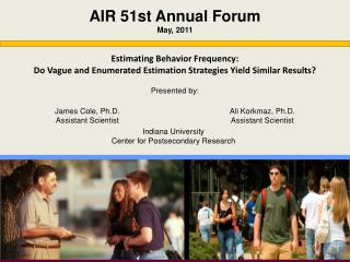 AIR 51st Annual Forum May, 2011