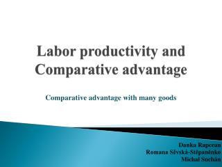 Labor productivity and Comparative advantage