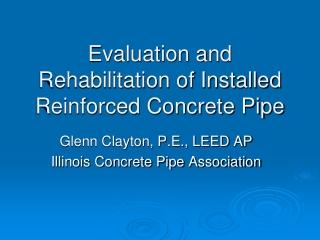 Evaluation and Repair Procedures for Precast