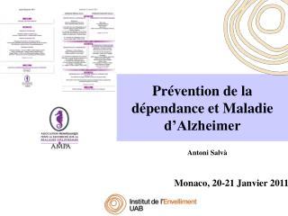 Pr vention de la d pendance et Maladie d Alzheimer