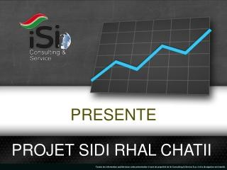 Projet Sidi Rhal Chatii
