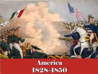America 1828 1850
