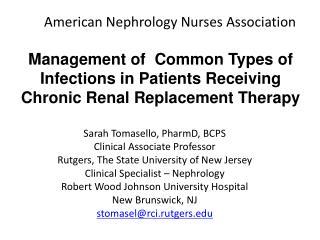American Nephrology Nurses Association