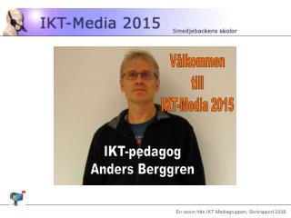 IKT-pedagog Anders Berggren