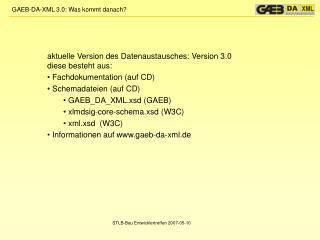 STLB-Bau Entwicklertreffen 2007-05-10