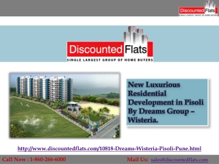 Dreams Wisteria – New Residential  Project by Dreams Group