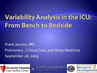 Variability Analysis in the ICU: From Bench to Bedside