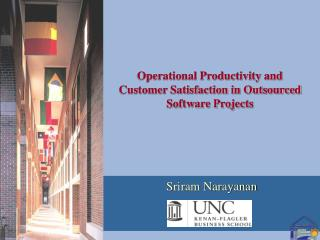 Operational Productivity and Customer Satisfaction in Outsourced Software Projects