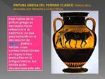 PINTURA GRIEGA DEL PERIODO CL SICO:  nfora  tica, decorada con Heracles y el toro Minos
