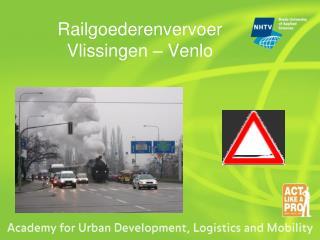 Railgoederenvervoer Vlissingen   Venlo