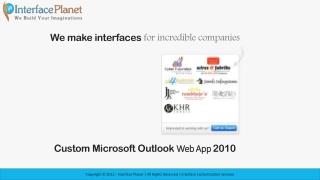 Customize Microsoft Outlook Web App 2010