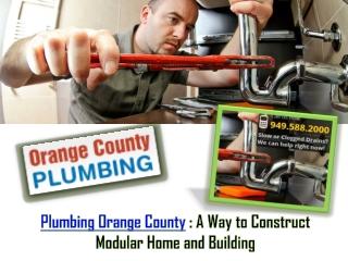 Plumbing Orange County