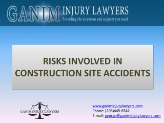 Risks Involved In Construction Site Accidents