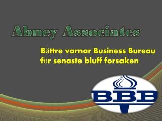 Bättre varnar Business Bureau för senaste bluff forsaken