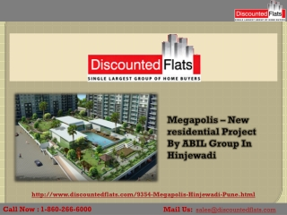 Buy 2 & 3BHK Apartments In Hinjewadi – Megapolis