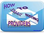 how to email hosting providers