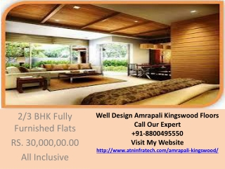 Amrapali Kingswood Floors Availabe on Low Price Call 8800495