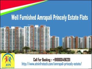 Well Furnished Amrapali Princely Estate Flats 8800496201