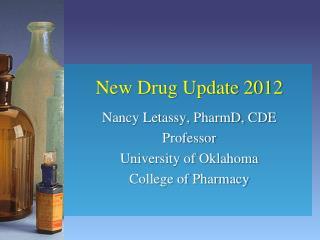 New Drug Update 2012
