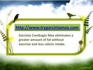 Garcinia Max