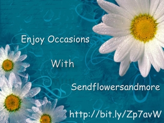 Celebrate Any Occasion With Sendflowersandmore