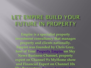 Buyers Agent Sydney | Your Empire property portfolio management