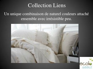 Collection De Lit, Drap Bio, Housse De Couette Bio