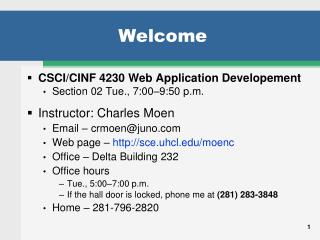 Welcome sce.uhcl Welcome