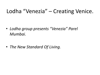 Venezia Parel 68 Storey Building 9910750427.