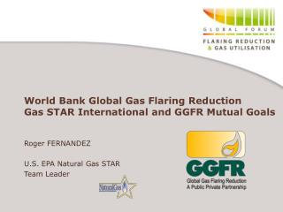 World Bank Global Gas Flaring Reduction