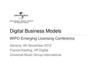 Virgin Media - Deal SummaryDigital Business Models