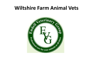 Wiltshire Farm Animal Vets