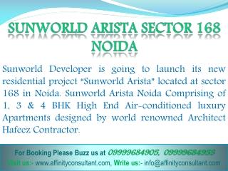 Sunworld Projects Noida