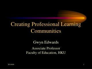 Creating Professional Learning Communities