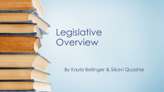 Legislative Overview