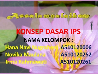 KONSEP DASAR Antropologi power point