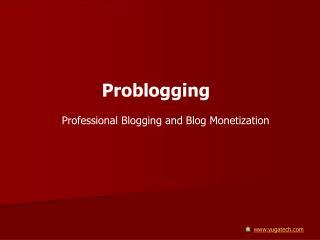 Problogging