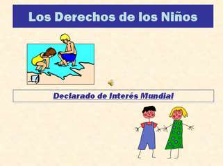 DERECHOS DE LOS MENORES