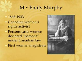 M  Emily Murphy