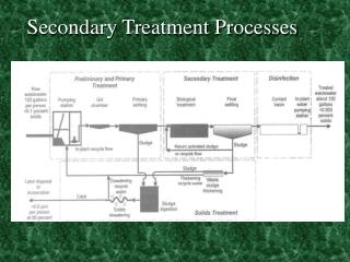 Secondary Treatment Processes