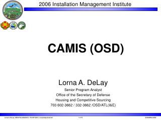 CAMIS OSD