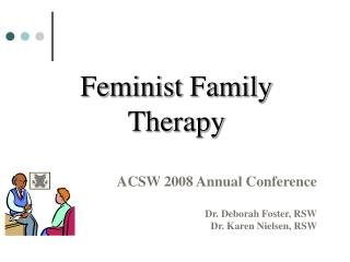 Feminist Family Therapy