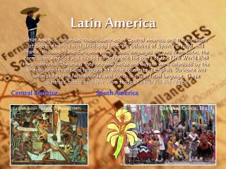 Central America                  South America