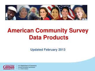 American Community Survey  Data Products