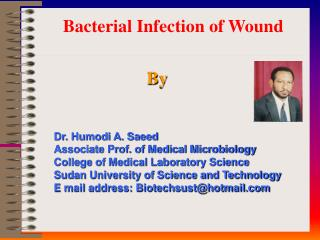 Bacterial Infection of Wound