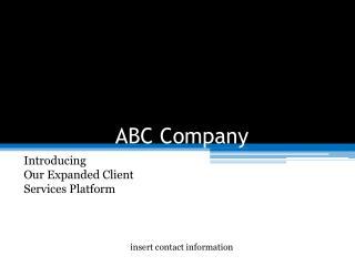ABC Company