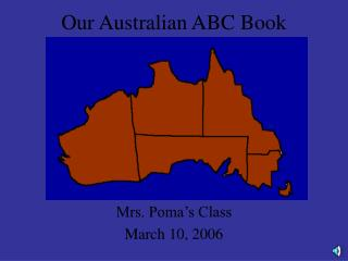 Our Australian ABC Book