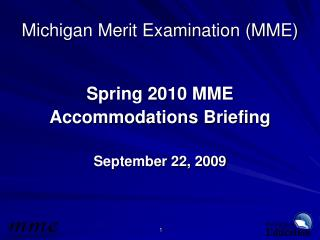 Michigan Merit Examination MME