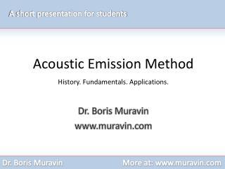 Dr. Boris Muravin muravin