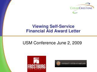 Presentation to University of Massachusetts